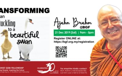 Ajahn Brahm at BGF – Dec 2019