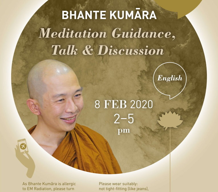 Dhamma Session with Bhante Kumara