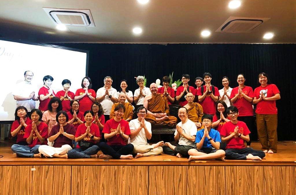 Ajahn Brahm's Visit to BGF 2019